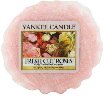 Yankee Candle Fresh Cut Roses tartelette en cire 22 g