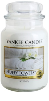 Yankee Candle Fluffy Towels Geurkaars 623 gr Classic Large