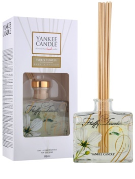 Yankee Candle Fluffy Towels aroma Diffuser met navulling 88 ml Signature