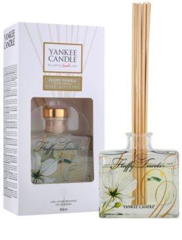 Yankee Candle Fluffy Towels diffuseur d'huiles essentielles avec recharge Signature 88 ml
