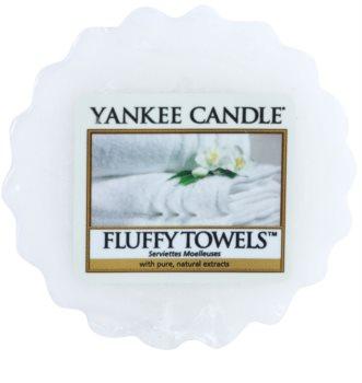 Yankee Candle Fluffy Towels cera para lámparas aromáticas 22 g