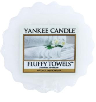 Yankee Candle Fluffy Towels illatos viasz aromalámpába 22 g