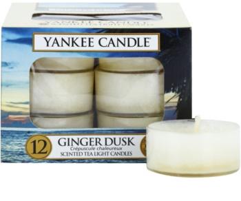 Yankee Candle Ginger Dusk čajová svíčka 12 x 9,8 g
