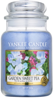 Yankee Candle Garden Sweet Pea vonná sviečka 623 g Classic veľká