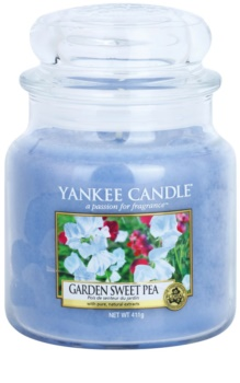 Yankee Candle Garden Sweet Pea bougie parfumée 411 g Classic moyenne