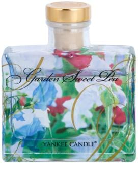 Yankee Candle Garden Sweet Pea dyfuzor zapachowy z napełnieniem 88 ml Signature