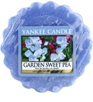 Yankee Candle Garden Sweet Pea illatos viasz aromalámpába 22 g