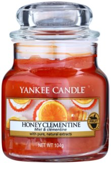 Yankee Candle Honey Clementine vela perfumada  104 g Classic pequeña