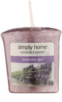 Yankee Candle Lavender Spa vela votiva 49 g