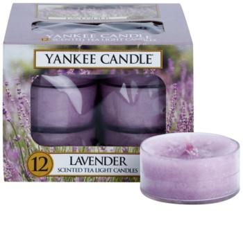 Yankee Candle Lavender vela do chá 12 x 9,8 g