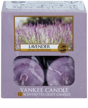 Yankee Candle Lavender teamécses 12 x 9,8 g