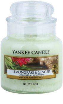 Yankee Candle Lemongrass & Ginger ароматизована свічка  104 гр Classic  маленька