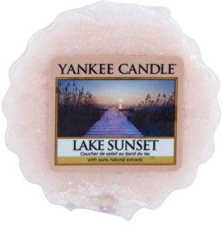 Yankee Candle Lake Sunset illatos viasz aromalámpába 22 g