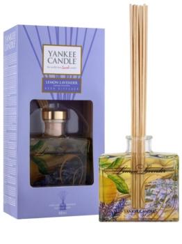 Yankee Candle Lemon Lavender aroma difuzér s náplní Signature 88 ml
