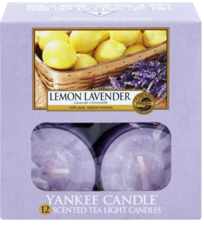 Yankee Candle Lemon Lavender Tealight Candle 12 x 9,8 g