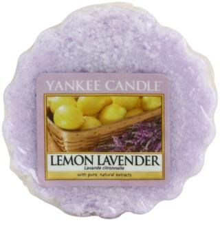 Yankee Candle Lemon Lavender cera para lámparas aromáticas 22 g