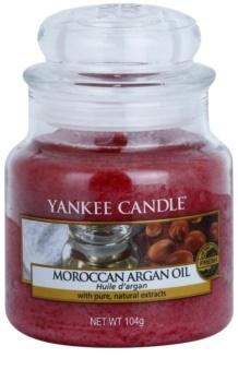 Yankee Candle Moroccan Argan Oil candela profumata 104 g Classic piccola