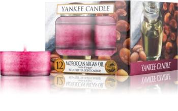 Yankee Candle Moroccan Argan Oil bougie chauffe-plat 12 x 9,8 g