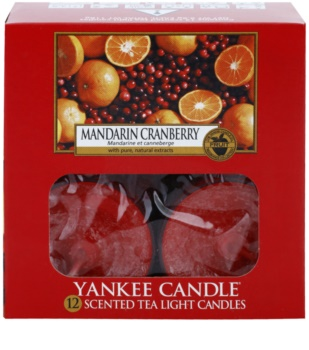 Yankee Candle Mandarin Cranberry candela scaldavivande 12 x 9,8 g