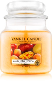 Yankee Candle Mango Peach Salsa vonná svíčka 411 g Classic střední