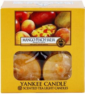 Yankee Candle Mango Peach Salsa Theelichtje  12 x 9,8 gr