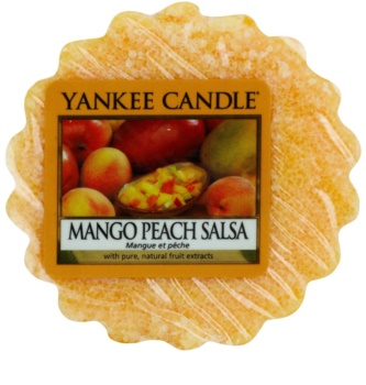Yankee Candle Mango Peach Salsa tartelette en cire 22 g