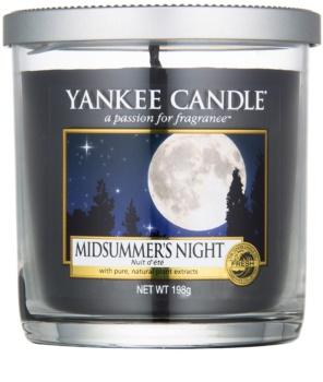 Yankee Candle Midsummer´s Night Duftkerze  198 g Décor klein