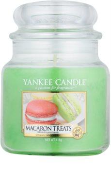 Yankee Candle Macaron Treats mirisna svijeća Classic srednja 411 g