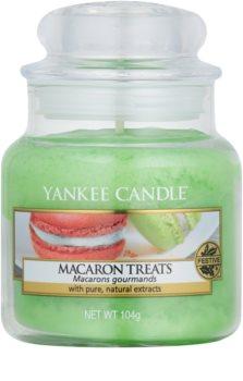 Yankee Candle Macaron Treats candela profumata 104 g Classic piccola