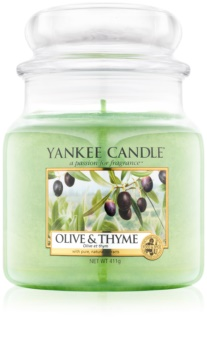 Yankee Candle Olive & Thyme Scented Candle 411 g Classic Medium