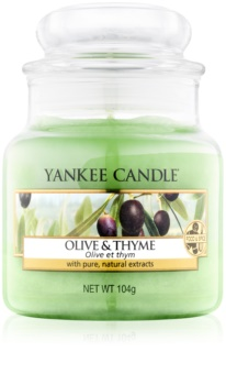Yankee Candle Olive & Thyme lumânare parfumată  104 g Clasic mini