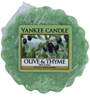 Yankee Candle Olive & Thyme cera per lampada aromatica 22 g