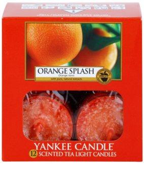 Yankee Candle Orange Splash świeczka typu tealight 12 x 9,8 g