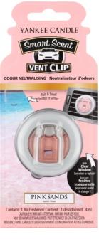 Yankee Candle Pink Sands parfum pentru masina Clip 4 ml