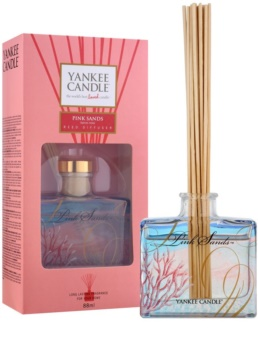 Yankee Candle Pink Sands Aroma Diffuser mit Füllung 88 ml Signature