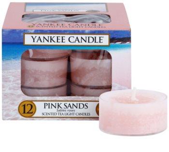 Yankee Candle Pink Sands čajová sviečka 12 x 9,8 g