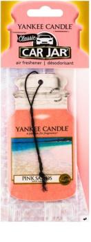 Yankee Candle Pink Sands vonná auto visačka