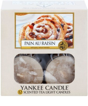 Yankee Candle Pain au Raisin świeczka typu tealight 12 x 9,8 g