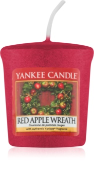Yankee Candle Red Apple Wreath votívna sviečka 49 g