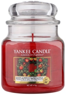 Yankee Candle Red Apple Wreath candela profumata 411 g Classic media