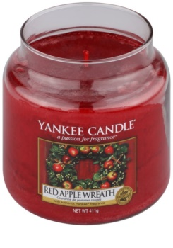 Yankee Candle Red Apple Wreath Scented Candle 411 g Classic Medium