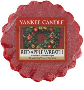 Yankee Candle Red Apple Wreath tartelette en cire 22 g