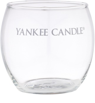 Yankee Candle Roly Poly Glass Votive Candle Holder   I. (Clear)