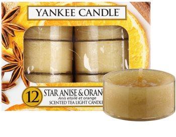 Yankee Candle Star Anise & Orange świeczka typu tealight 12 x 9,8 g