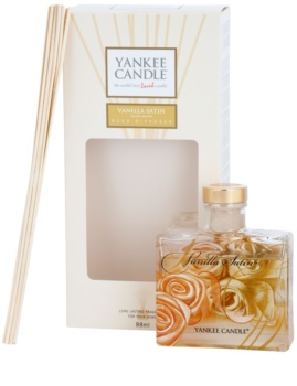 Yankee Candle Vanilla Satin Αρωματικός διαχύτης επαναπλήρωσης 88 μλ Υπογραφή