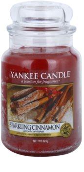 Yankee Candle Sparkling Cinnamon illatos gyertya  623 g Classic nagy méret