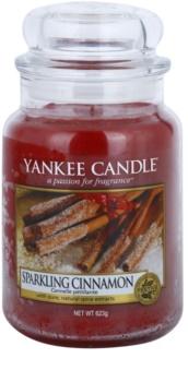 Yankee Candle Sparkling Cinnamon vonná svíčka 623 g Classic velká