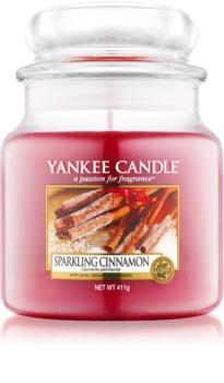 Yankee Candle Sparkling Cinnamon illatos gyertya  411 g Classic közepes méret