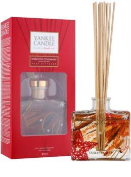 Yankee Candle Sparkling Cinnamon aroma diffuser mit füllung Signature 80 ml