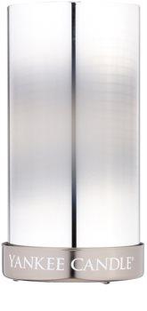 Yankee Candle Silver Mirror candeeiro em vidro para vela
